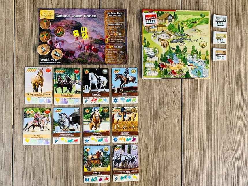Fantasy Ranch: Player's Ranch and stables