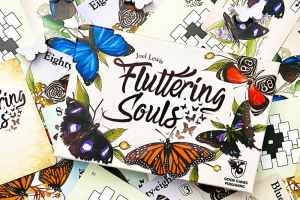 Fluttering Souls a two player card game