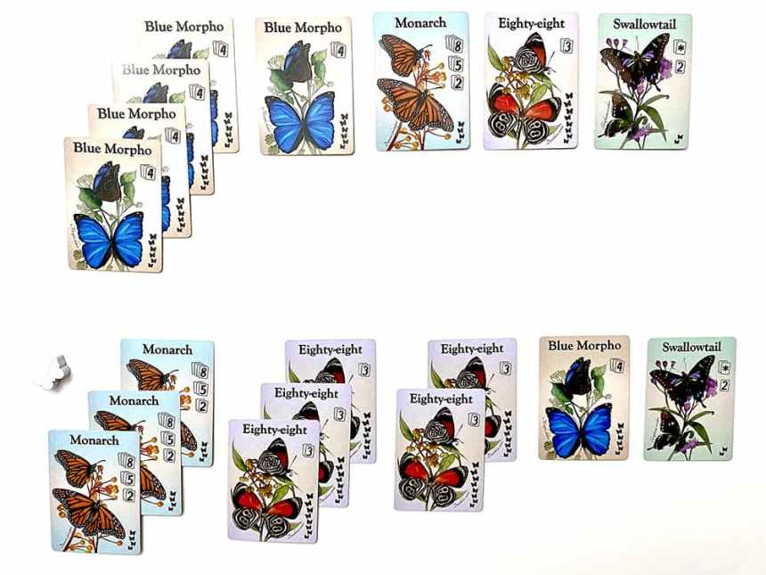 Fluttering Souls Two Player Card Game Scoring