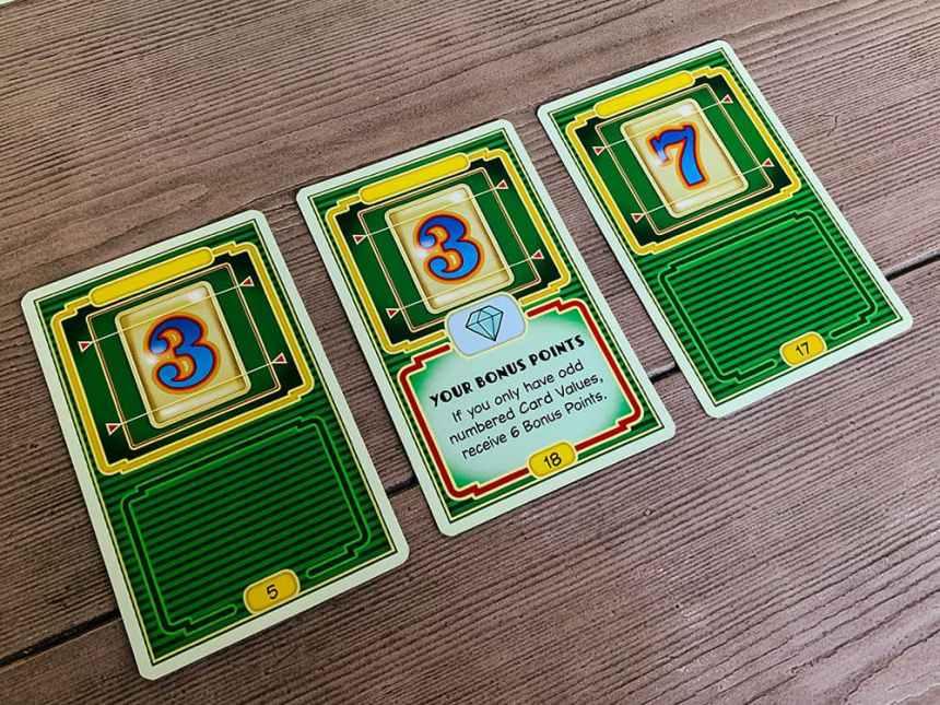 scoring: 3, 3, 7