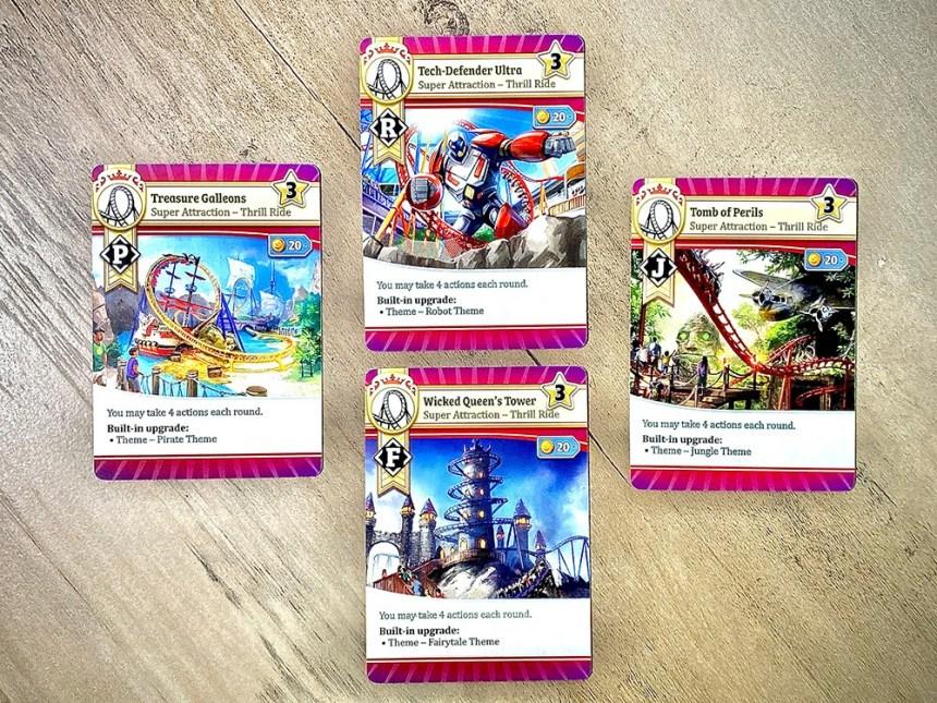 Funfair Showcase Cards