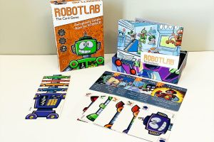 RobotLab game components