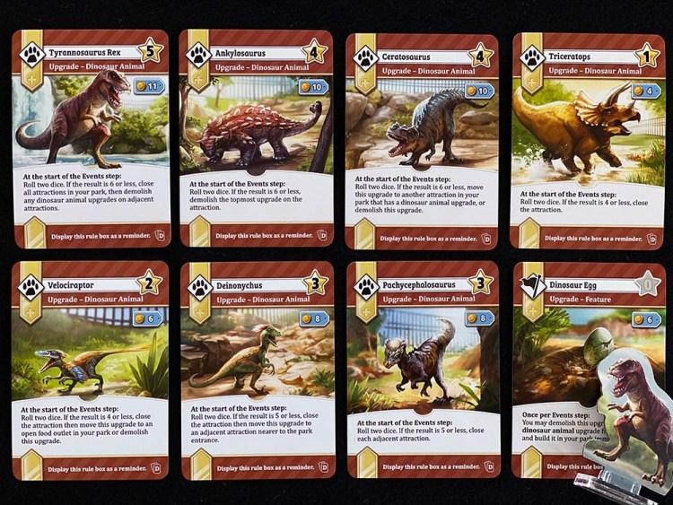 Unfair Dinosaur Cards