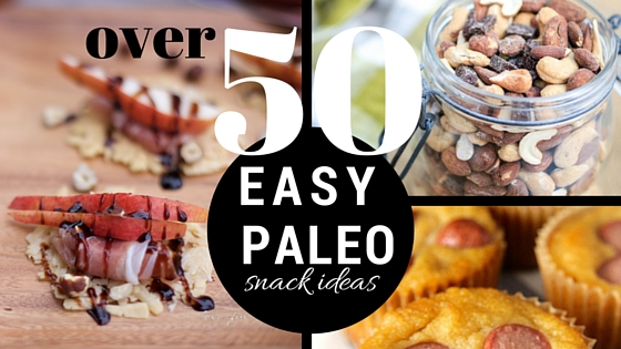 In need of snack ideas on the paleo or primal diet? We've got you covered! Here are over 50 easy paleo snack ideas from The Family That Heals Together