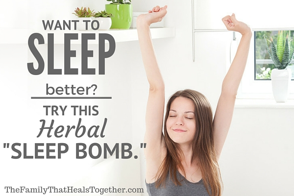 """Sleep Better: Try This Herbal """"Sleep Bomb"""" 