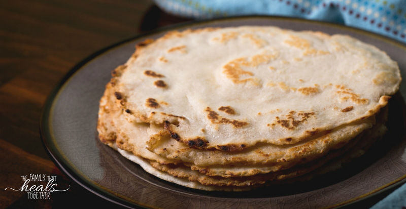 Easy-Peasy Paleo Tortillas   The Family That Heals Together