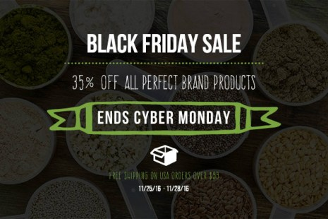 Perfect Supplements Black Friday Sale