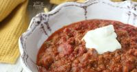 Super Nourishing, Superfood Beef Chili Recipe for the GAPS Intro Diet   The Family That Heals Together