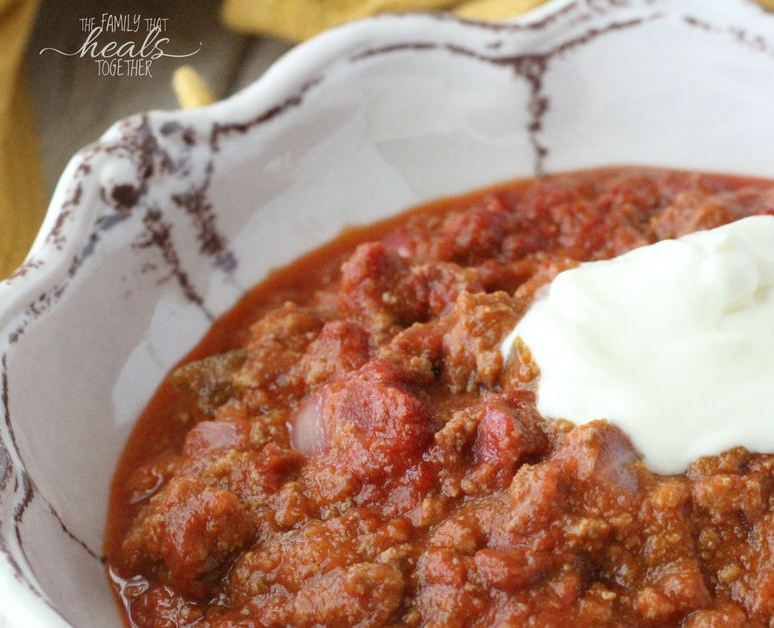 Super Nourishing, Superfood Beef Chili Recipe for the GAPS Intro Diet