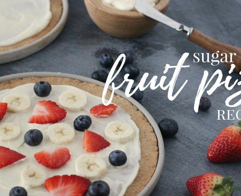 Grain-Free Sugar Cookie Fruit Pizza Recipe