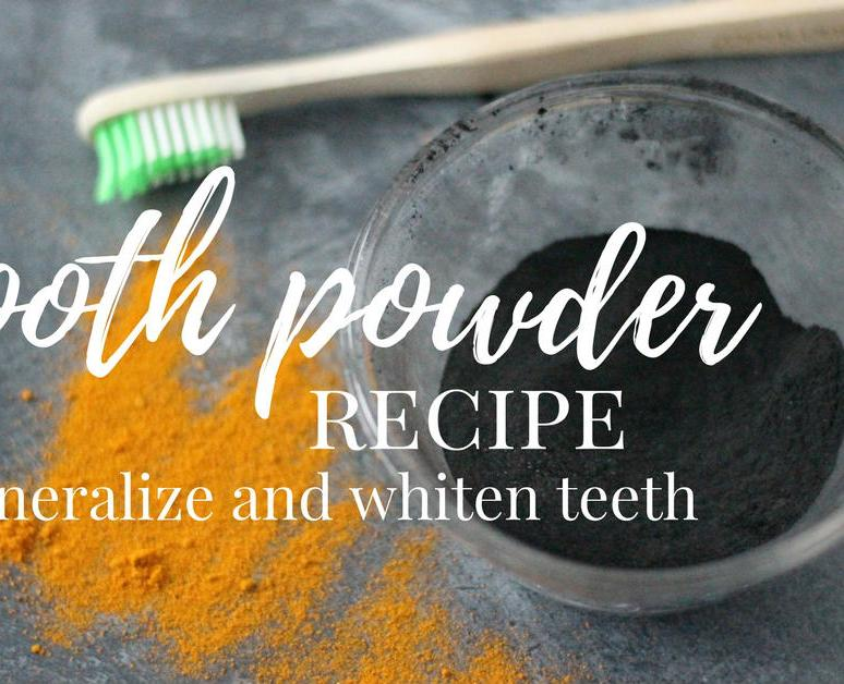 Tooth Powder Recipe to Remineralize and Whiten Teeth
