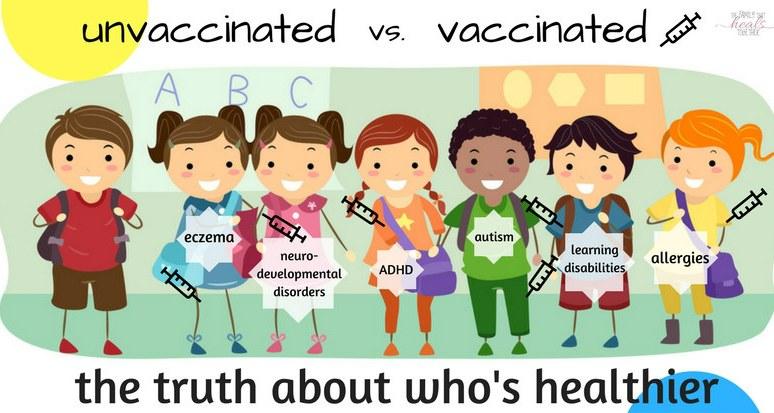 Vaxxed Vs. Unvaxxed: A Study Finally Proves Unvaccinated Children Are Healthier