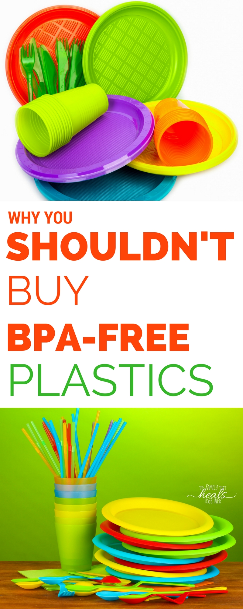 You know you should avoid BPA, but did you know BPA free chemicals are no better? Learn the dangers and what products you should be buying instead from The Family That Heals Together