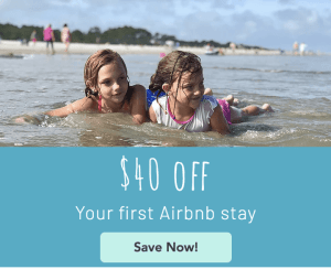$40 your first Airbnb stay