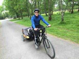 biking with kids in Ireland