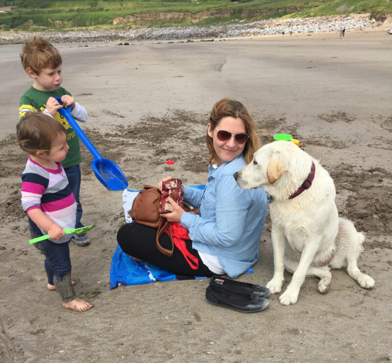 Inch Beach with kids