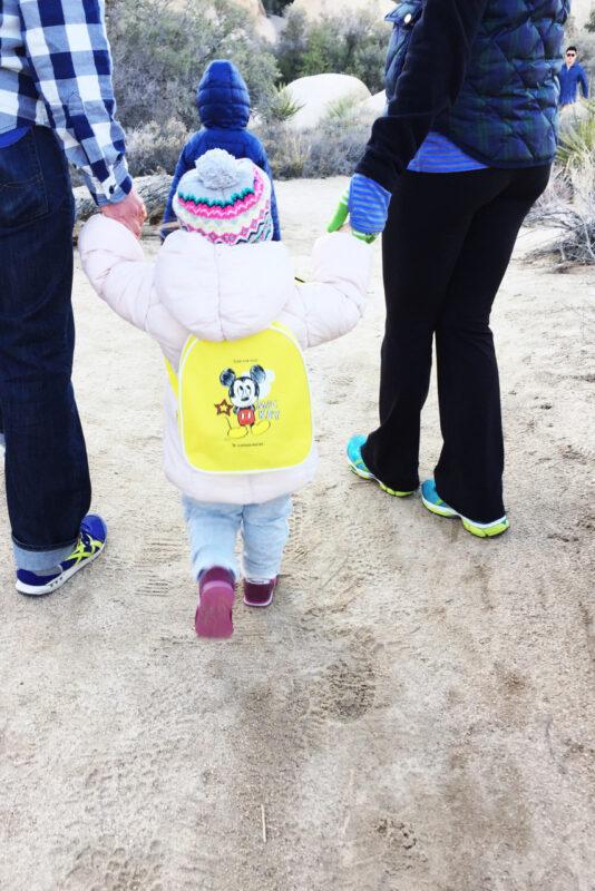 Joshua Tree with kids