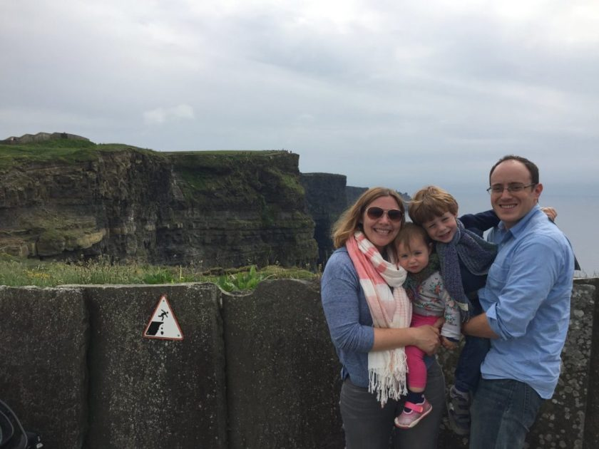 Ireland with Kids: Visiting the Cliffs of Moher