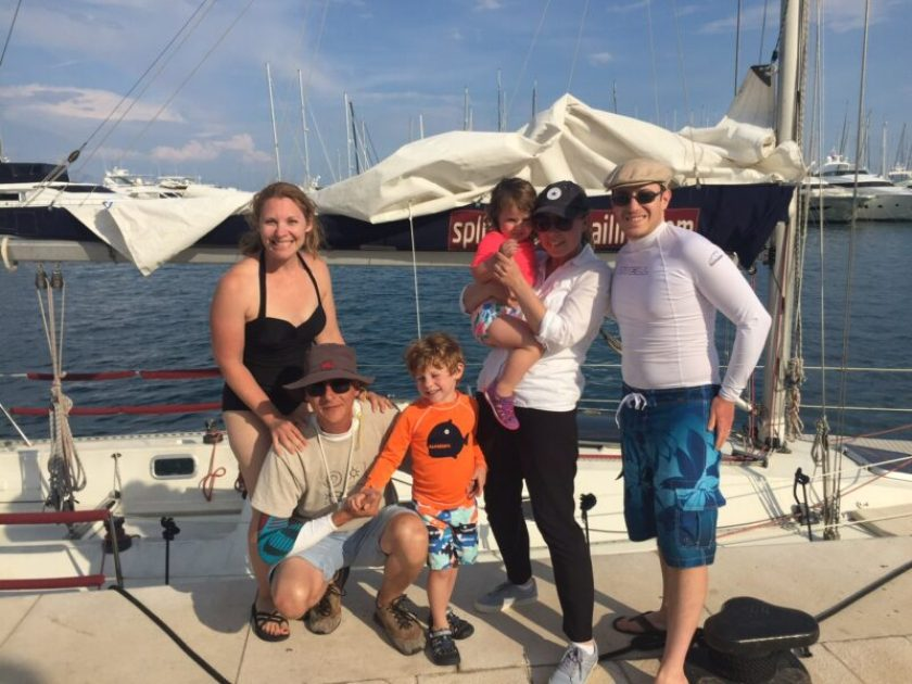 The Family Voyage with the crew from Opjica Tours. Thanks for a great day on the water!