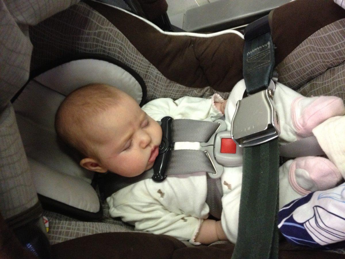 car seats on Lufthansa, flying Lufthansa with a baby, Lufthansa with infant, Lufthansa car seat on plane, Lufthansa car seat on flight, baby on board Lufthansa