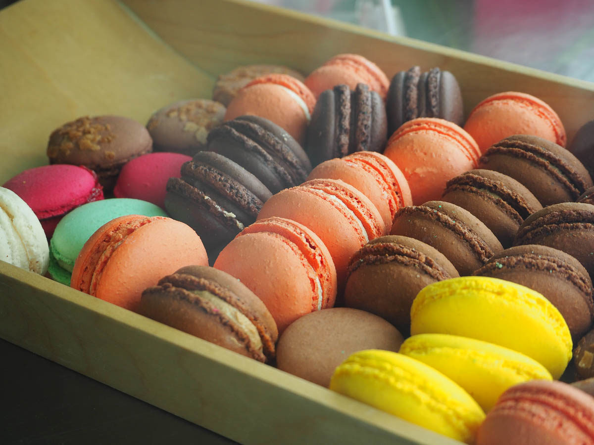 macarons in Paris