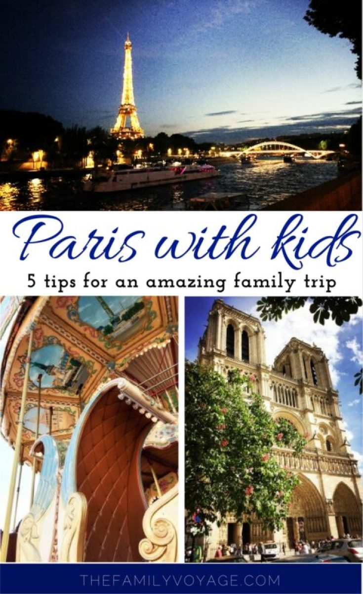 how to visit paris with kids