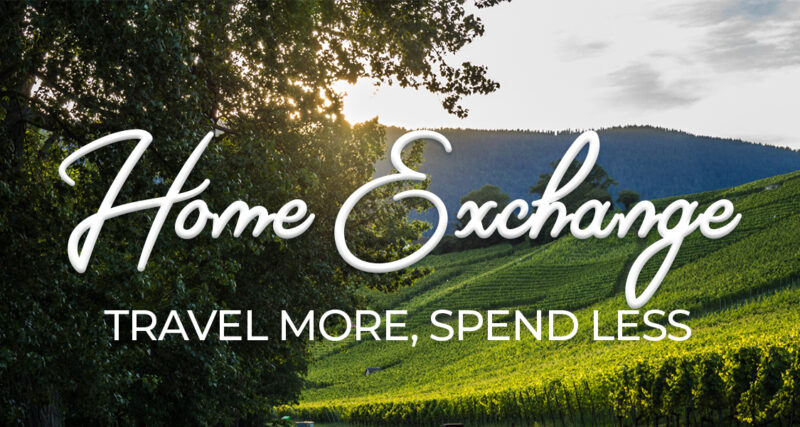 Do you want to save money on travel? Maybe you're already a budget travel expert? Check out our favorite way to stay in style: home exchange! HomeExchange.com is the best way to do budget travel and is an awesome frugal lifestyle idea. #travel #budget #frugal