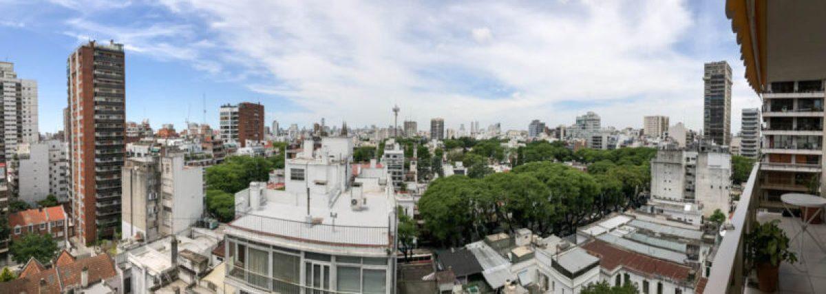 Buenos Aires Belgrano neighborhood view