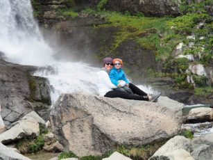 """Jacob's favorite travel moment? Scrambling over the rocks and enjoying some """"mommy and Jakey time"""""""