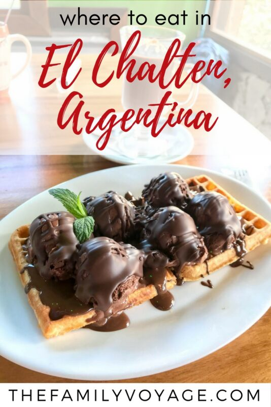 If you plan to visit Patagonia, Argentina be sure to check our El Chalten restaurant guide for all the best eats and treats in town! #Patagonia #Argentina #ElChalten #travel #foodie #foodietravel