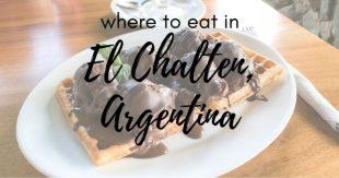 Restaurante patagonia El Chalten