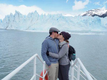 Perito Moreno was spectacular... and freezing
