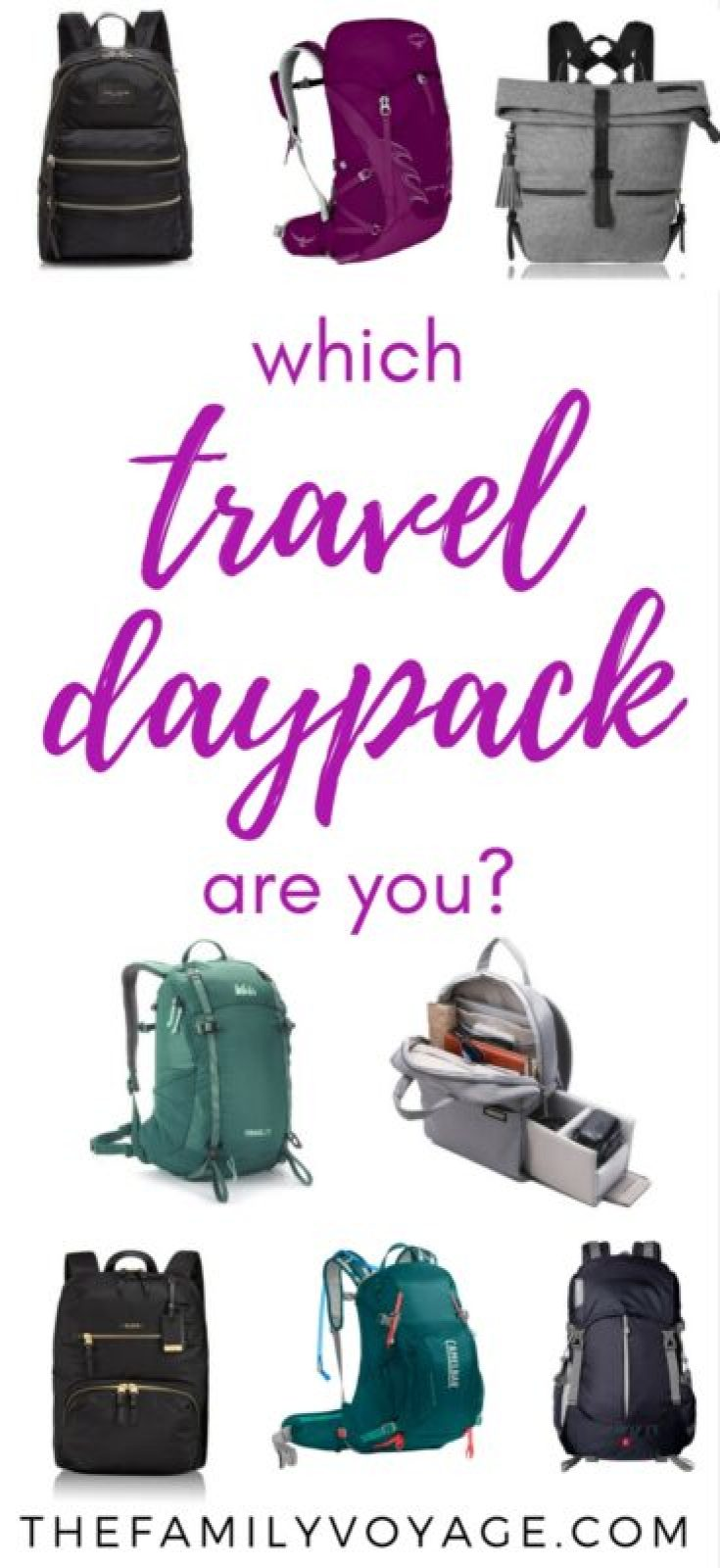 Since I forgot to bring a daypack for travel on our trip around the world, I've spent plenty of time lusting after these daypacks for women. Whether you prefer a hiking backpack, more stylish backpacks or even a camera backpack, you'll find great choices. What's you fave? #travel #gear #femaletravel #backpack