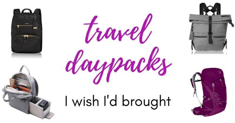 best daypacks for women who travel