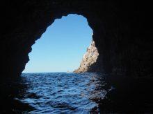 new zealand sea cave