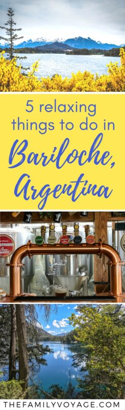 Bariloche, Argentina offers spectacular mountain scenery and an amazing destination for relaxation. There are so many things to do in Bariloche that there's truly something for everyone! So take a read and get inspired to plan your Argentina itinerary now. #travel #Argentina #Patagonia #Bariloche