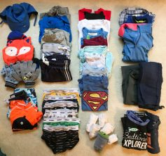family holiday packing list