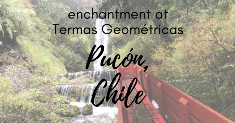 The enchanted forest of Termas Geometricas in Pucón, Chile