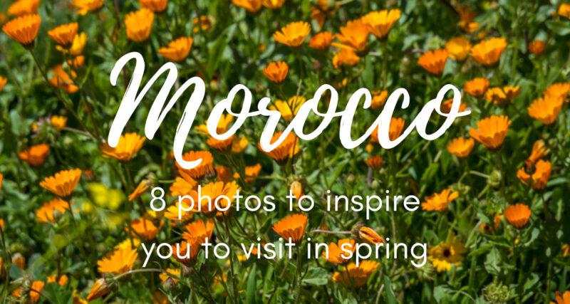 where to go in Morocco in April