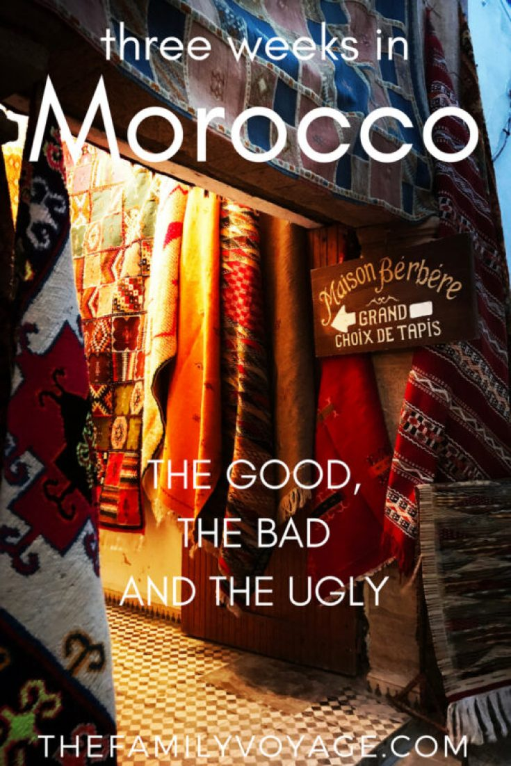 Morocco is one of the most fascinating places we've visited, but also the most challenging. Don't get on the plane until you read this article on the real behind-the-scenes of traveling in Morocco... beyond the romance and Hollywood charm. Read it now or save it for later! #Morocco #Africa #Marrakesh #Marrakech #Fes #Fez #travel #familytravel #travelplanning