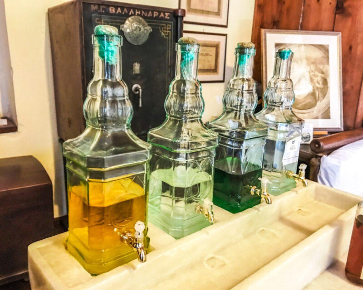 Vallindras kitron distillery on Naxos, Greece