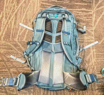 REI ruckpack 65 women harness