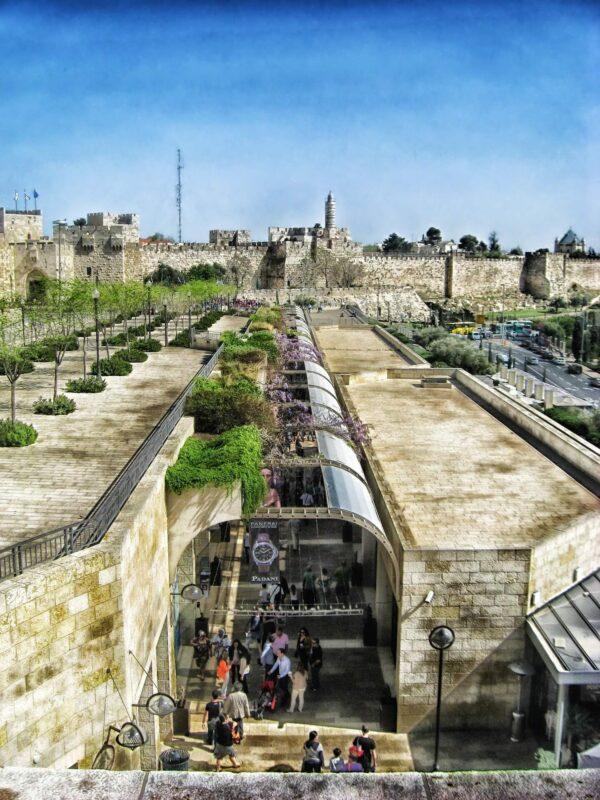 Mamilla Mall in Jerusalem, Israel