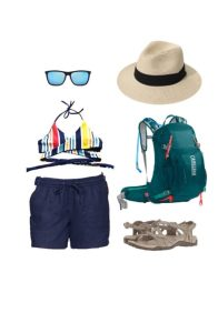 What to wear for hiking in Ein Gedi #Israel #packinglist #summer