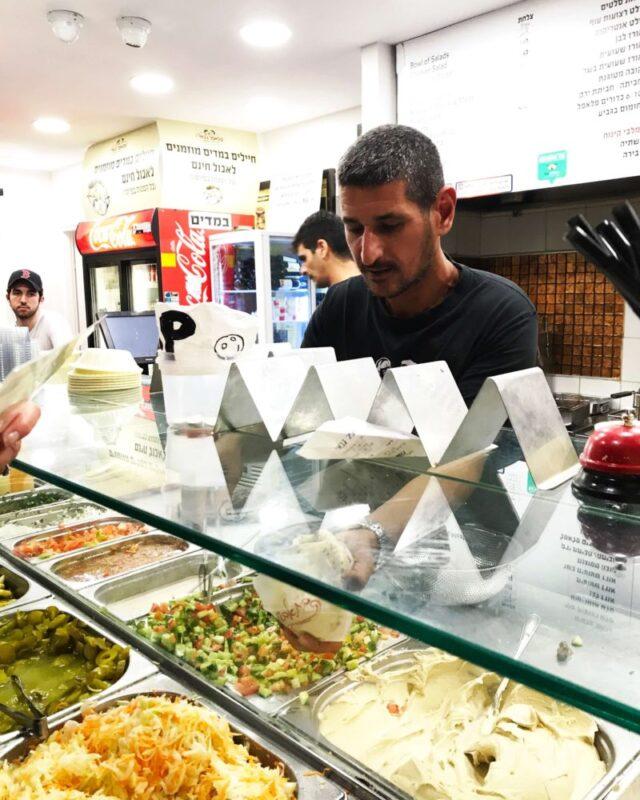 Falafel Gabay on Bograshov Street in Tel Aviv #TelAviv #Israel #falafel #foodietravel