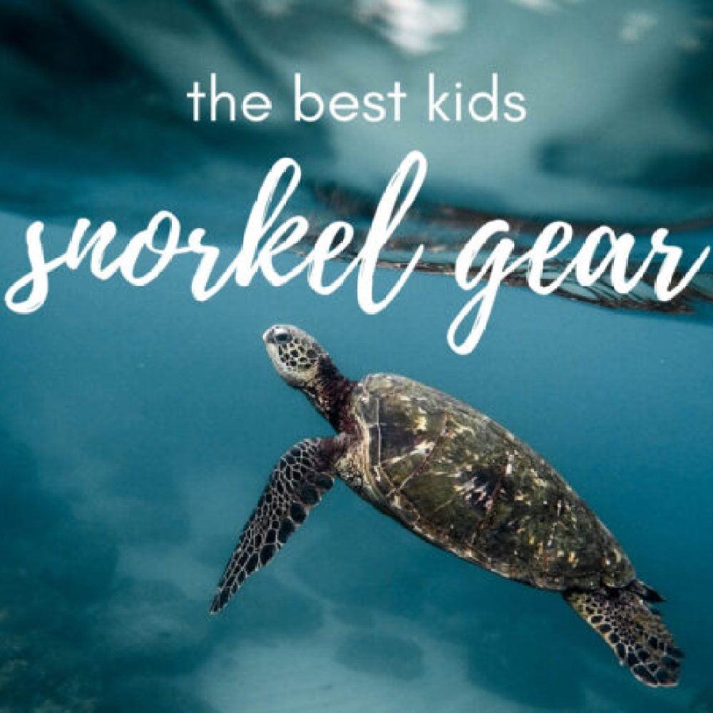 The best snorkel gear for kids of every age (+ how to teach your kids to use it)
