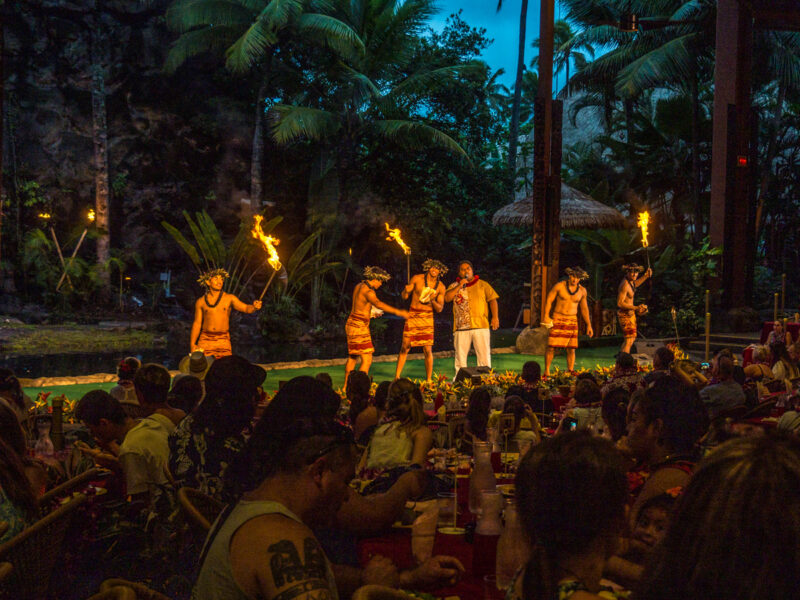 Polynesian Cultural Center reviews of Ali'i Luau
