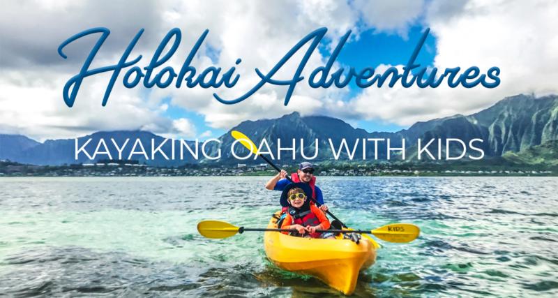 Kayaking on Oahu with kids: Holokai Adventures