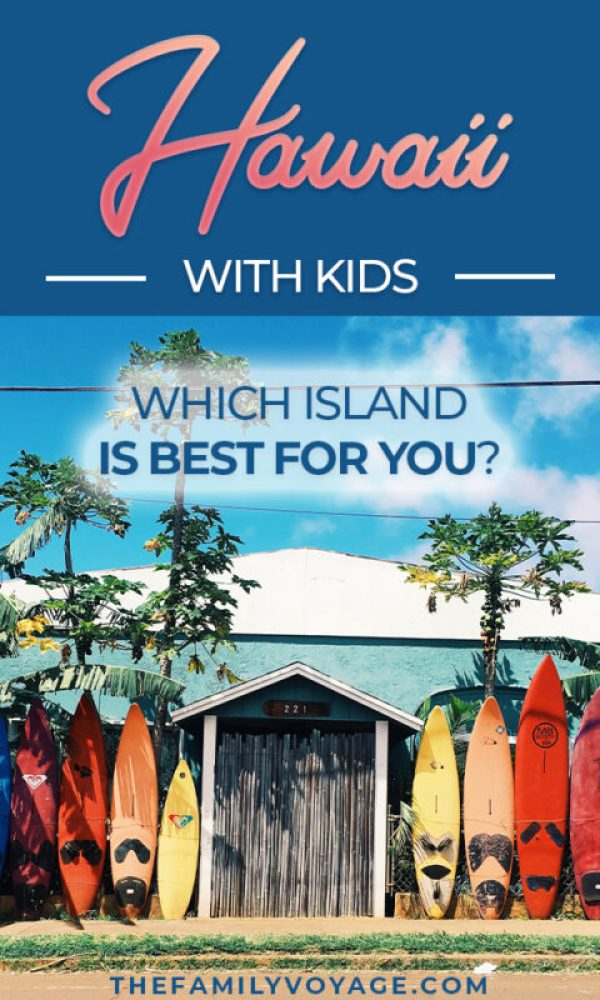 Are you planning a Hawaii vacation with kids? Check out these Hawaii travel tips to find out which Hawaiian island to visit with kids! We have info on Oahu, Maui, Kauai, the Big Island and even Molokai and Lanai. Make your trip to Hawaii with kids amazing! #Hawaii #travel #familytravel