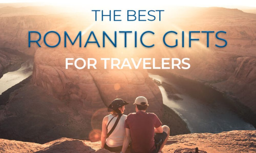 Looking for gift ideas for someone who loves to travel? We have great romantic travel-themed gifts for guys and girls that will knock their socks off without breaking the budget. #giftideas #romantic #travelcouple